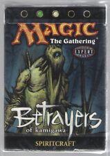 MTG Magic the Gathering Betrayers of Kamigawa Spiritcraft Theme Starter Deck