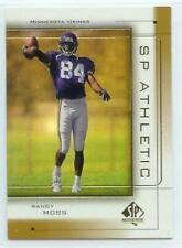 Randy Moss Minnesota Vikings 1999 SP Authentic Athletic
