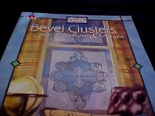 Gallery Glass Bevel Clusters For Windows and Doors Book With Patterns & Instruct