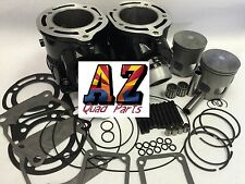 Banshee 350 Stock Bore 64m Cylinders Trinity Head Orings Top End Rebuild Kit