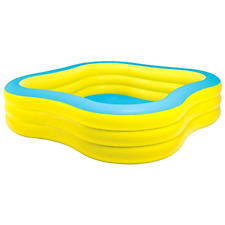 """Brand New Intex Swim Center Family Inflatable Pool, 90"""" X 90"""" X 22"""", for Ages 6+"""