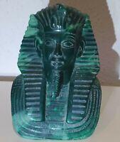 1 KG Alt Büste Echnaton Ägypt Pharao Statue Figur König Vater v. Tutanchamun