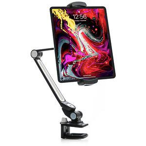 Sinland Premium 360° Tablet & Handyhalterung, Klemme für Tisch- & Bettkanten