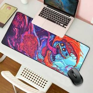 90x40cm Desk Mat Gaming Mouse Pad Large Laptop Keyboard Non-Slip Awesome Game