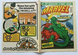 MEGA RAR - MARVEL COMIC HEFT Comic UK ENGLAND  - Nr. 344 von 1979    GODZILLA