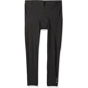 Canari Padded Cycling Tights Men's Black Stretch Pants  - Size XL