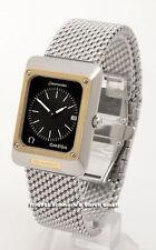 OMEGA Quarz-Armbanduhren (Batterie) im Luxus-Stil mit Datumsanzeige