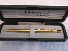PARKER CLASSIC GRAIN D ' ORANGE 22K GOLD ELECTROPLATE BALLPOINT PEN ( 52932 )