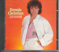 DENNIE CHRISTIAN - Een souvenir CD Album 18TR Schlager 1988 West Germany print