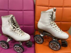 Chicago Quadline 100mm Richard Humphrey Roller Skates Size 9 Women's