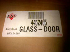 WHIRLPOOL outer Door Glass 4452465 STAINLESS  NEW