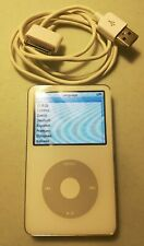 Lightly Used Apple iPod Classic 5th Gen. 30Gb - White (Ma002Ll/A) *Free Shipping