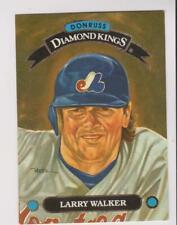 1993 Donruss Diamond Kings #DK-6 Larry Walker card, Colorado Rockies