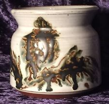 Vintage BRIGLIN Studio Pottery, Hand Painted Earthenware Bowl, Made in London.