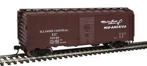 Walthers 910-1757 40' AAR 1948 Boxcar Illinois Central #31049