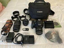 Canon EOS Rebel T3i / EOS 600D Bundle 18.0MP Digital SLR Camera - Black (Kit w/
