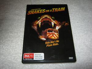 Snakes on a Train - Director's Cut - VGC - DVD - R4