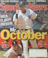 DEREK JETER - MR. OCTOBER / NEW YORK YANKEES 2006 SPORTING NEWS Magazine