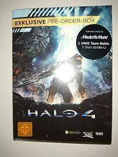 Halo 4 Exclusive Pre-Order-Box NEU/selten (1 UNSC Team Noble T-Shirt L)