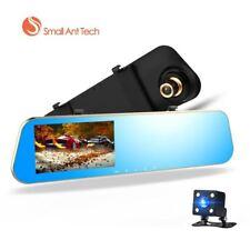 Full HD 1080P coche DVR espejo retrovisor con lente dual con cámara de visión nocturna Dash