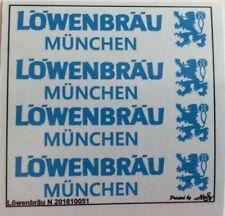 Löwenbräu München Decals 1:160 oder Spur N Wasserschiebebilder
