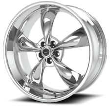 17X8 AMERICAN RACING AR605 TORQ THRUST CHROME WHEEL RIM FORD TOYOTA MITSUBISHI +