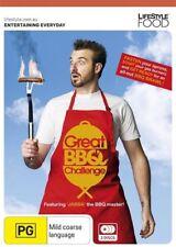 Great BBQ Challenge (DVD, 2011, 3-Disc Set) Region Free