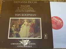 9502 101 Picchi Dances & Toccatas - 9 Pieces for Harpsichord / Koopman