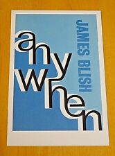 FABER CLASSIC BOOK COVER POSTCARD ~ ANY WHEN BY JAMES BLISH ~ 1936 DESIGN ~ NEW