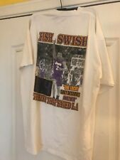 Los Angeles Lakers 2004 Fish Swish one lucky shot shirt size XL Derek Fisher