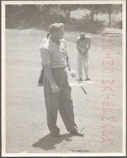Vintage Photo Golfing Man Walter Burkemo w/ Golf Club 704280