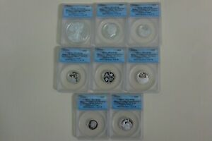 2019S US Mint Limited Edition Silver 8-COIN Proof Set ANACS PR70 FIRST DAY ISSUE