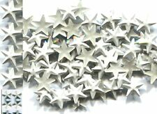 STARS  Rhinestuds  8mm Pearl Color WHITE  Hot Fix 1 gross