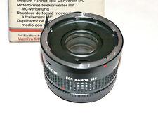 Moltiplicatore di focale  2X per formato medio, Mamyia 645 - Tele converter