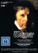Wagner - Das Leben und Werk Richard Wagners auf 3 DVDs im Schuber
