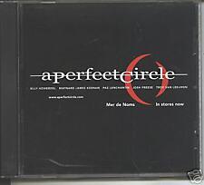 a perfect circle - mer de noms promo cd tool