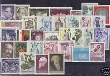 Österreich Jahrgang 1970 feinst postfrisch komplett