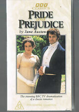 ~PRIDE and PREJUDICE~ Colin Firth video box set AUSTEN