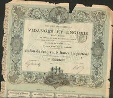 DECO => VIDANGES & ENGRAIS 1879  (A)