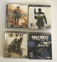 Call of Duty MW3 & 2 - Advanced Warfare - Ghosts PlayStation 3 PS3 /  4 Games