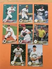 2018 Topps Pro Debut Pittsburgh Pirates Team Set 8 Cards Minor League