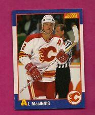 1991-92 SCORE KELLOGGS # 16 FLAMES AL MACINNIS CARD (INV# 7590)
