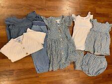 RALPH LAUREN Baby Girls Clothing Lot - 9 pcs - 12 mos. - Spring Summer