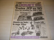 LVJ La VIE du JOUET 49 11.1999 TRAINS JEP HO JOUETS en BOIS VILAC POUPEE LILLI