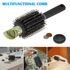 Hair Brush Hide Diversion Safe Money Jewelry Storage Security Comb