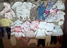 BABY GIRL SUMMER BUNDLE 3 - 6 MONTHS DRESSES, TOPS, TROUSERS, DUNGAREES, LEGGING