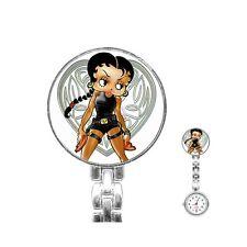 Betty Boop Lara Croft Nurses Fob Watch [40210843]