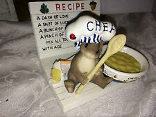 """Charming Tails """"What'S Cookin"""" Dean Griff Chef Mouse"""
