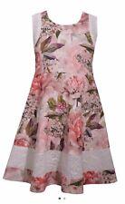 Bonnie Jean Plus Size 18.5 Girls Tea Skater Summer Dress Pink