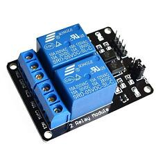 2 Kanal Relais Modul 5V/230V Optokoppler Protection 2-Channel Relay DSP AVR PIC